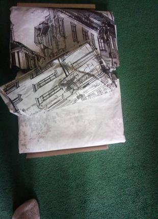 Постельное белье 2-ох спальное beltex архитектура комплект5 фото