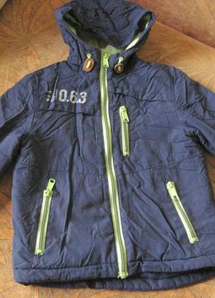 Куртка на флисе 4-6л. george