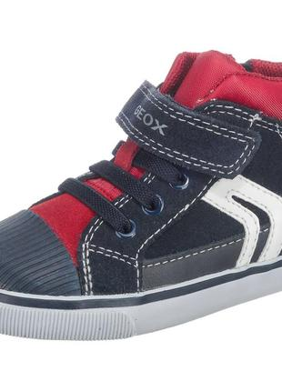 Фирменные кроссовки-ботинки geox р-р21(13см)оригинал