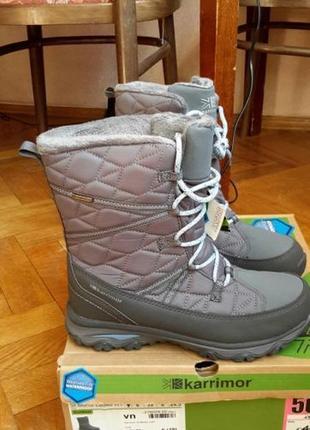 Суперові жіночі зимові чоботи karrimor, оригінал. модель st moritz ladies wt