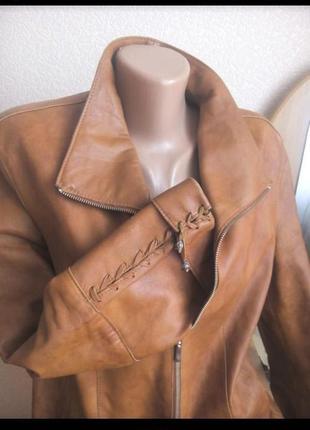 Коженная(лайка) куртка 52-54раз.