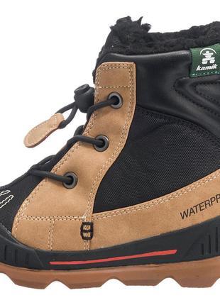 Фирменные зимние термо-ботинки kamik mason до -32с  р-р29(17.5см)оригинал