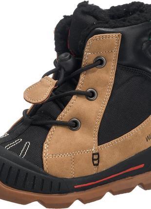 Фирменные зимние термо-ботинки kamik mason до -32с  р-р29(17.5см)оригинал2 фото