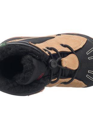 Фирменные зимние термо-ботинки kamik mason до -32с  р-р29(17.5см)оригинал5 фото