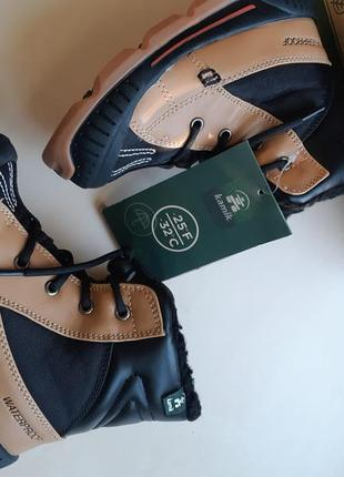 Фирменные зимние термо-ботинки kamik mason до -32с  р-р29(17.5см)оригинал7 фото