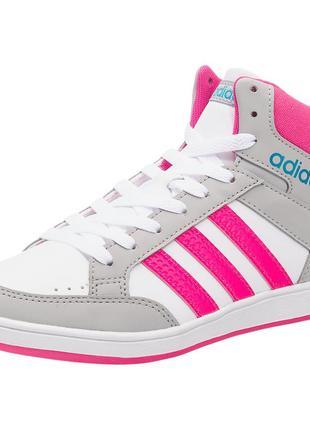 Фирменные кроссовки хайтопы adidas р-р31(19см)оригинал