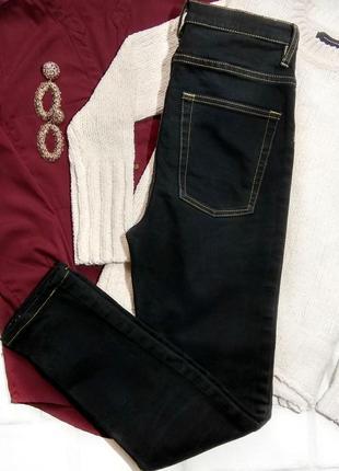 Черные высокие джинсы cheap monday на пуговицах