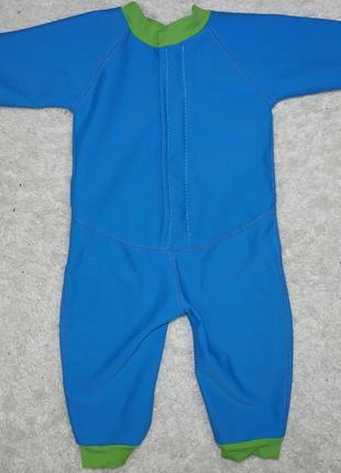 Детский konfidence гидрокостюм неопрен флис костюм купальный бассейн плаванье2 фото
