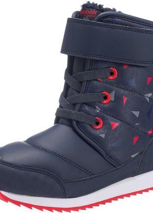 Фирменные зимние ботинки reebok snow prime р-р29,31.5,36.5, 39 оригинал