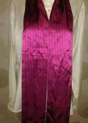 Шелковый шарф шарфик