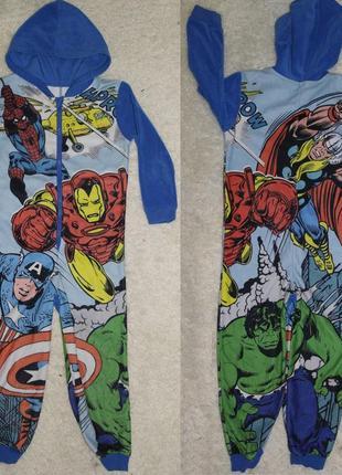 George marvel мстители слип кигуруми человечек пижама домашний костюм комбинезон