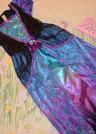 Шикарное карнавальное платье 7-8 лет