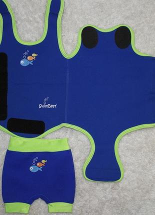 Детский swim best гидрокостюм неопрен костюм купальный бассейн плаванье
