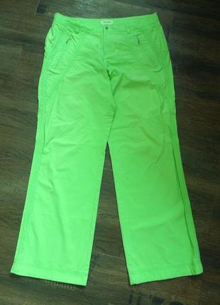 Летние яркие брюки 52 размера  city classic