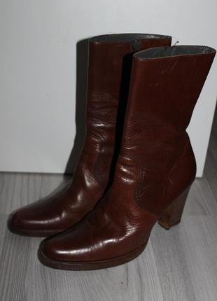 Кожаные ботинки miu miu 40р