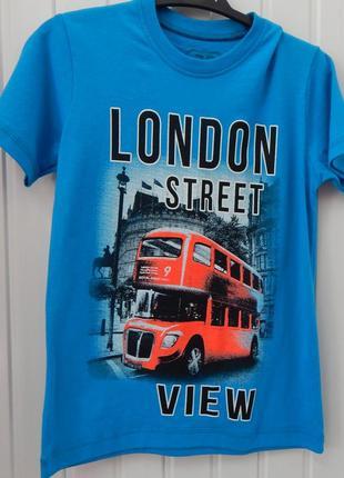 Подростковая футболка valimark с принтом london