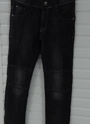 Детские джинсы с регулируемой талией на 10 лет kiabi skinny fit серые