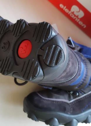 Фирменные ботинки elefanten р-р25(15.5см)оригинал7 фото