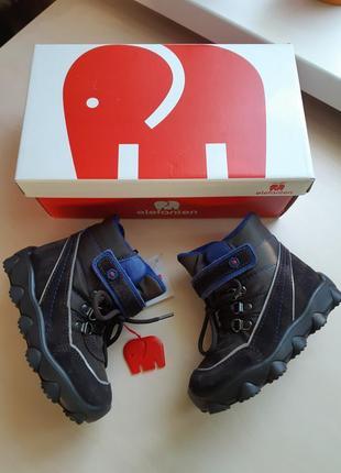 Фирменные ботинки elefanten р-р25(15.5см)оригинал8 фото