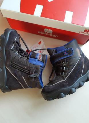 Фирменные ботинки elefanten р-р25(15.5см)оригинал10 фото