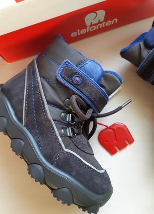 Фирменные ботинки elefanten р-р25(15.5см)оригинал9 фото
