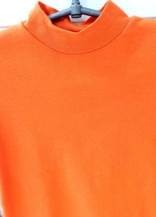 Детский гольф хлопок sky оранжевый италия