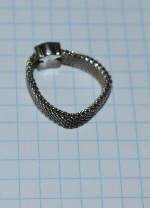 Красивое кольцо tous mesh серебро 925 проба вес 4,32 грамм оригинал5