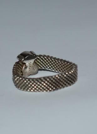 Красивое кольцо tous mesh серебро 925 проба вес 4,32 грамм оригинал6