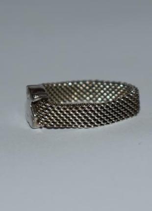 Красивое кольцо tous mesh серебро 925 проба вес 4,32 грамм оригинал7