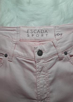 Очень качественные фирменные штаны джинсы escada3 фото
