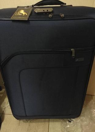 Дорожный чемодан на 4 колесах большой турция для самолета
