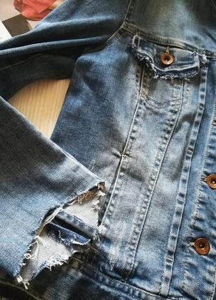 Джинсовая куртка pimkie s-m5 фото