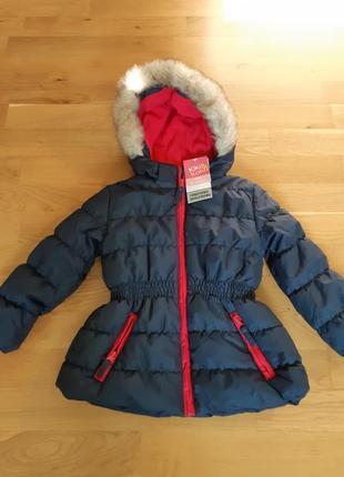 Новая фирменная немецкая куртка kiki&koko р-р104.германия