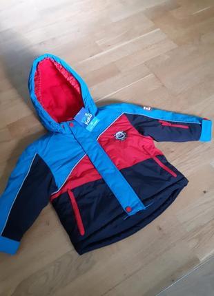 Новая  немецкая куртка kiki&koko р-р92 и 104.германия