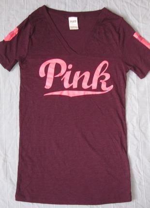 Victoria's secret pink  (м) футболка женская