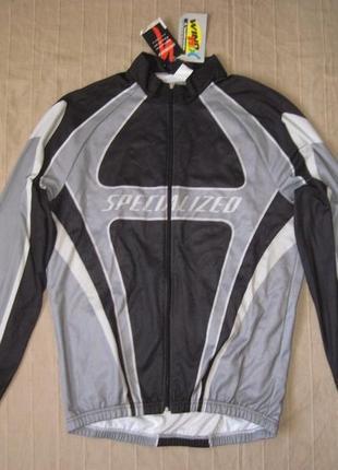 Specialized windtex (xxl) велокуртка мужская ветрозащитная с микрофлисом