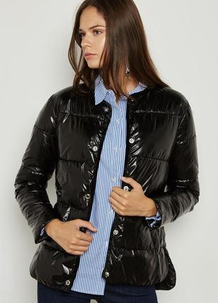Курточка mango черная женская s