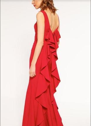 Червона вечірня сукня 💃