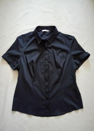 Чёрная рубашка размер uk 12