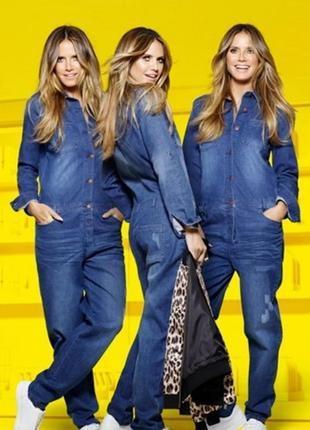 Супер модный джинсовый комбинезон