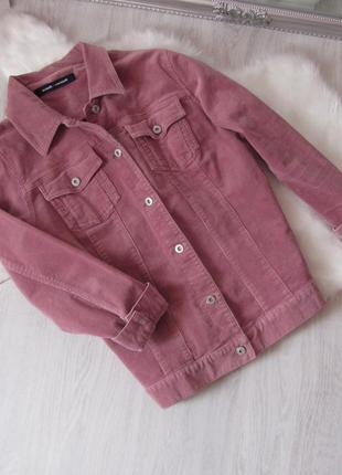Розовая куртка,коттонова джинсовая вельветовая джинсовка курточка оверсайз шерпа