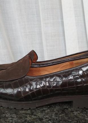 Туфельки кожаные gabor