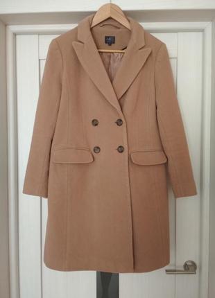 Пальто кемел marks & spencer2 фото