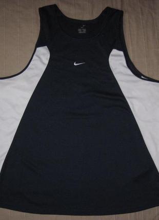 Nike dri-fit (xl) спортивная майка мужская