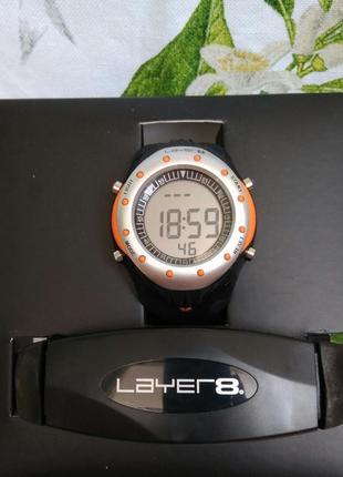 Фитнес часы с пульсометром и подсчетом калорий layer 8 personal heart ratemonitor
