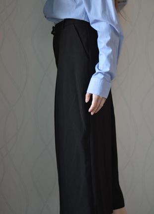 Стильные кюлоты 🌟акція🌟1+1=3🌟свободные базовые мода 2019  кюлоти штани вільного крою