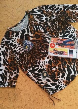 Блузка туника батал