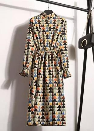 Вельветовое платье1 фото