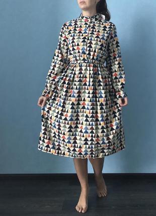 Вельветовое платье2 фото