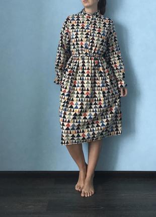 Вельветовое платье4 фото